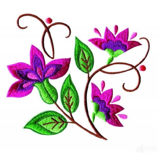 Viscose Thread- Embroidery Designs