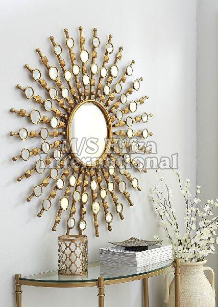 Iron Wall Art Mirror