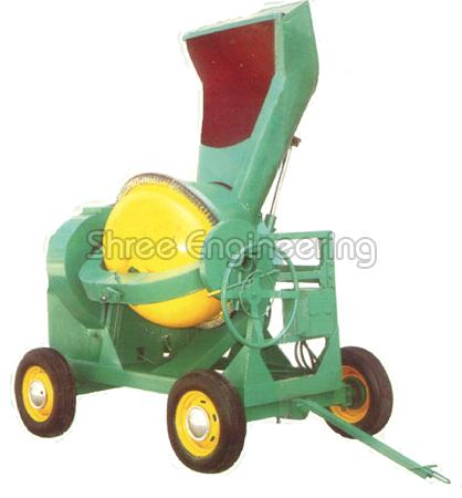 10/7 CFT Concrete Mixer (Full Bag with Hydraulic Hopper)