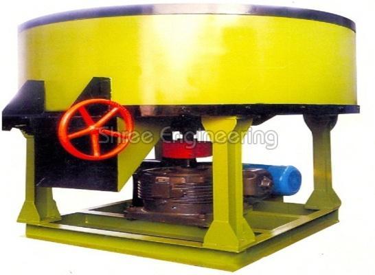 350Kg Concrete Pan Mixer