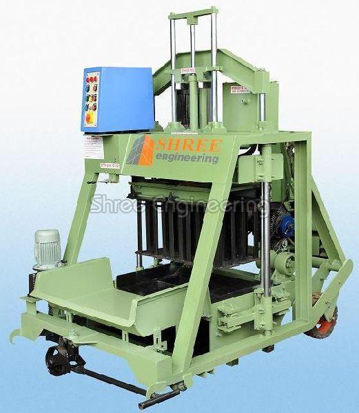 860mm Double Vibrator Concrete Block Making Machine