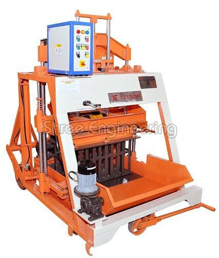 860mm Triple Vibrator Concrete Block Making Machine