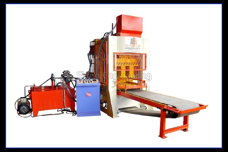 Fly Ash Brick Making Machine (12 Bricks Belt Type)