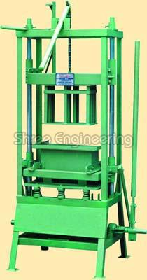 Hollow Hand Operated Concrete Block Making Machines Manufacturers