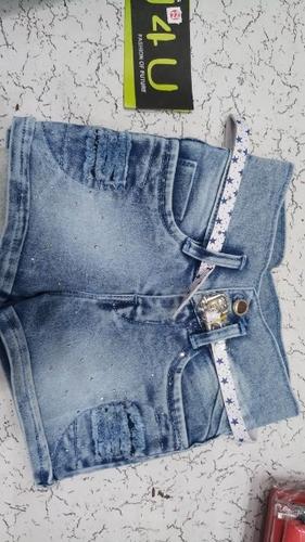 Girls Designer Denim Short