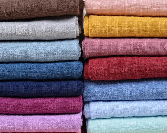 Coloured Cotton Fabric