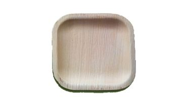 6 Inch Square Disposable Plate
