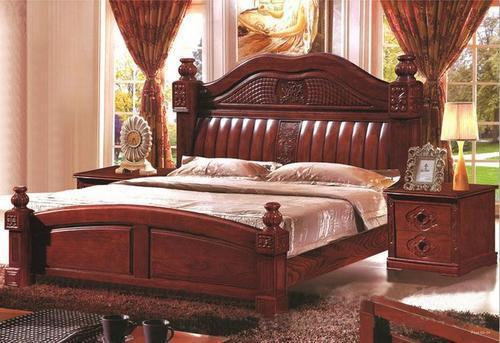Antique Wooden Bed