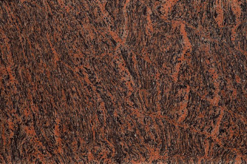 Tiger Skin Granite Slab