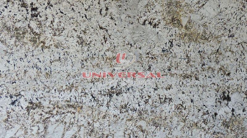 Alaska White Gold Granite Slab