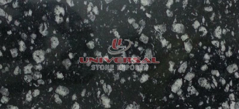 Coin Black Granite Slab