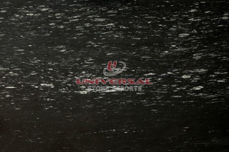 Ocean Black Granite Slab