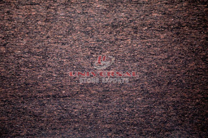 T Brown Granite Slab