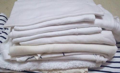 White Hosiery Cotton Wipper