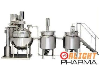 Ointment & Cream Manufacturing Plant