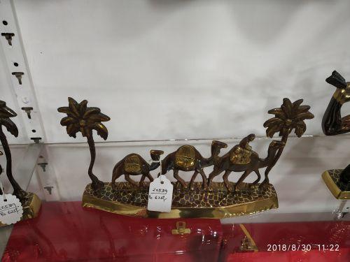 Brass Camel Statue 01