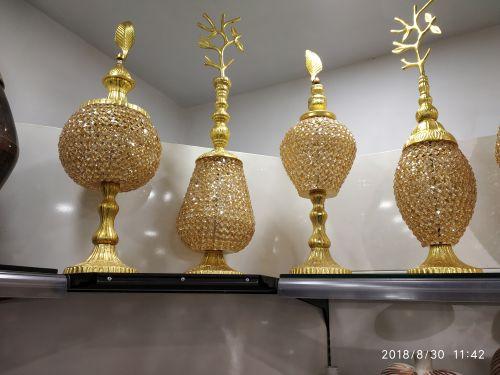 Brass Decorative Vase 01
