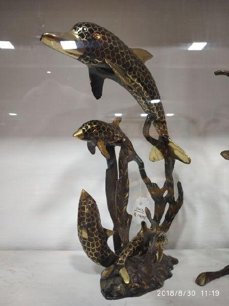 Brass Fish Statues
