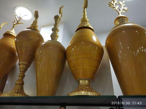 Brass Plain Vase 01