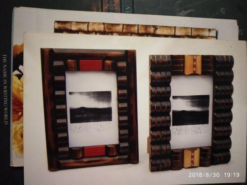 Horn and Bone Modern Photo Frames