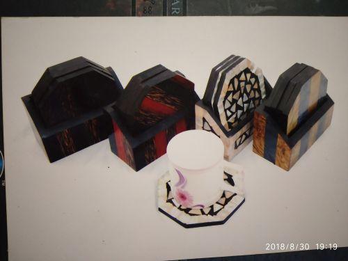 Horn and Born Tea Coaster 01