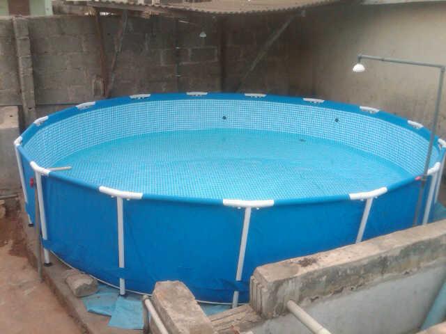 Round Fish Farming Tank