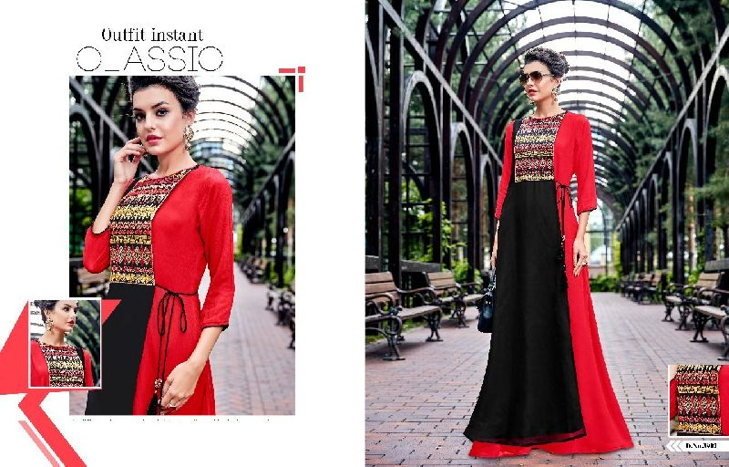D No. 3902 Georgette Gown