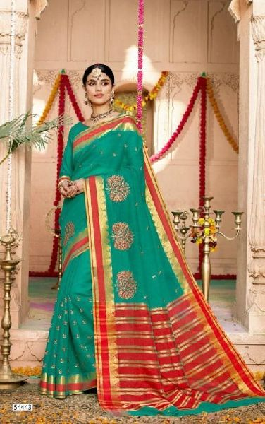 D No. 54443 Silk Saree