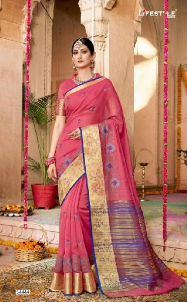 D No. 54444 Silk Saree