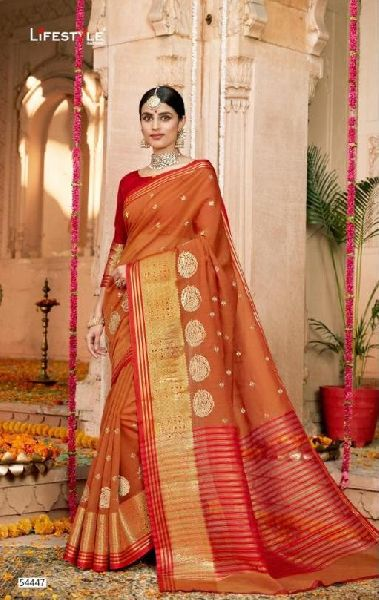 D No. 54447 Silk Saree