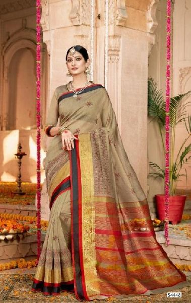 D No. 54448 Silk Saree