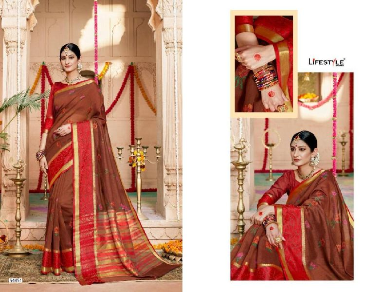 D No. 5451 Silk Saree