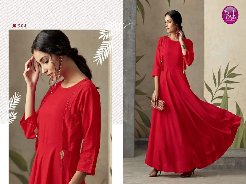 D No. 904 Rayon Gown