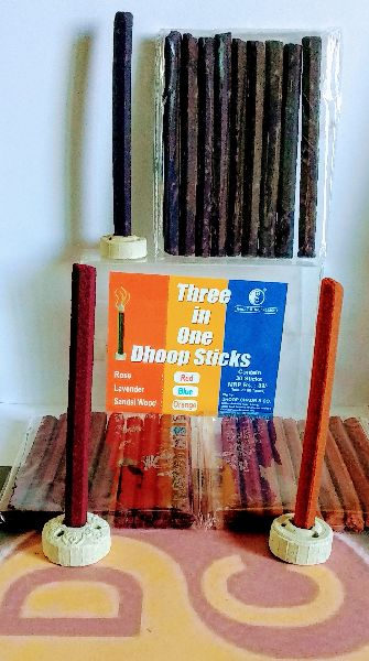 Three in One Dhoop Stick 02