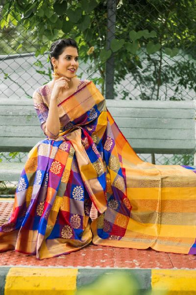 Dark Color Kanchipuram Silk Sarees