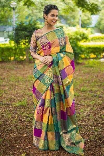 Designer Kanchipuram Silk Sarees