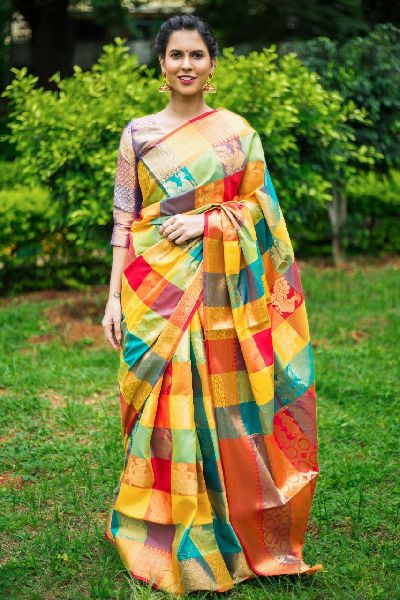 Fancy Kanchipuram Silk Sarees