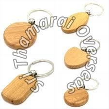 Wooden Keychain