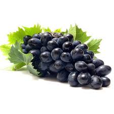 Natural Black Grapes