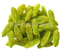 Long Green Raisins