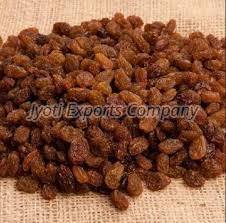 Round Brown Raisins