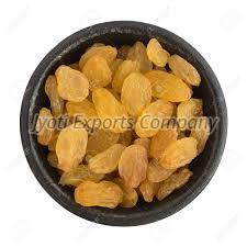 Round Golden Raisins