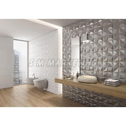 3D Amazing Bathroom Wall Tile