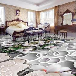3D Epoxy Floor Tile