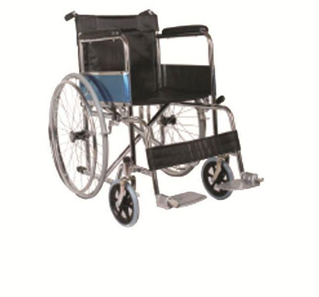 Black Cushion Wheelchair