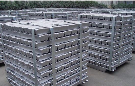 Polished Aluminium Ingots