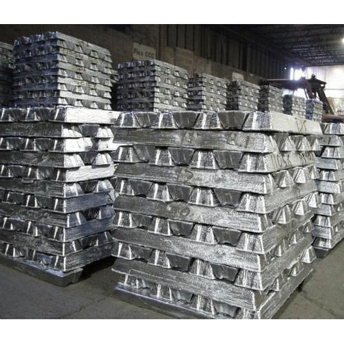 Silver Aluminium Ingots