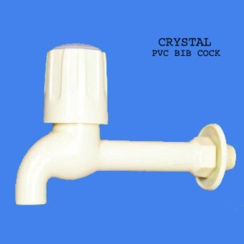 Crystal PVC Bib Cock