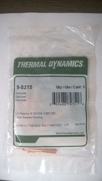 Thermal Dynamics Plasma Consumables Electrode