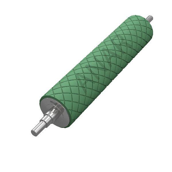 Rubber Grooved Spreader Roller